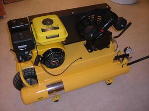 Kompressor Bensindriven Fyrtaktsmotor