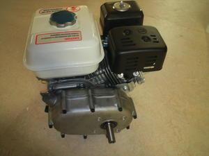 6,5hk Fyrtaktsmotor med Automatlåda