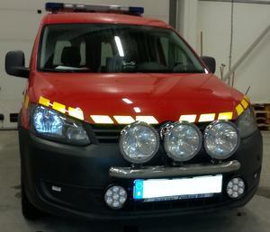 "6"" 70w CREE LED 7000 Lumen Extraljus Spot"