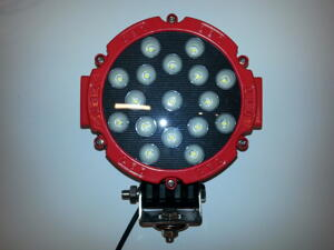 51w CREE LED 5000 Lumen Arbetsbelysning Röd Sarg